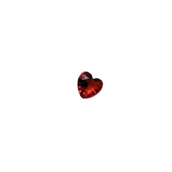 кристалче бордо сърце