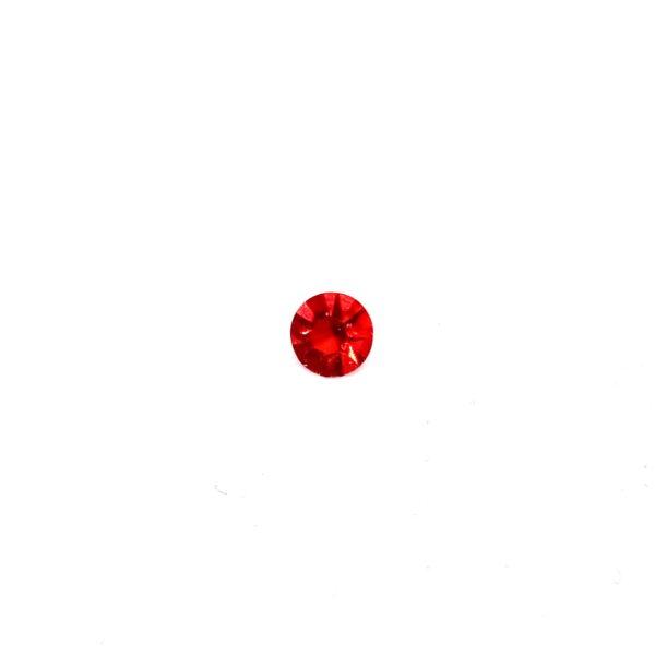 червено кристалче частица
