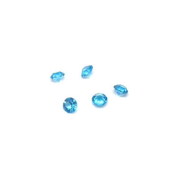 небесно сини кристалчета