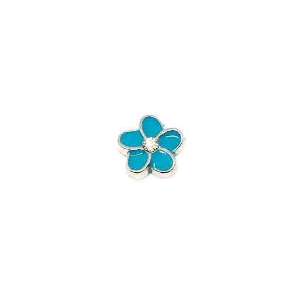 синьо цвете Частица