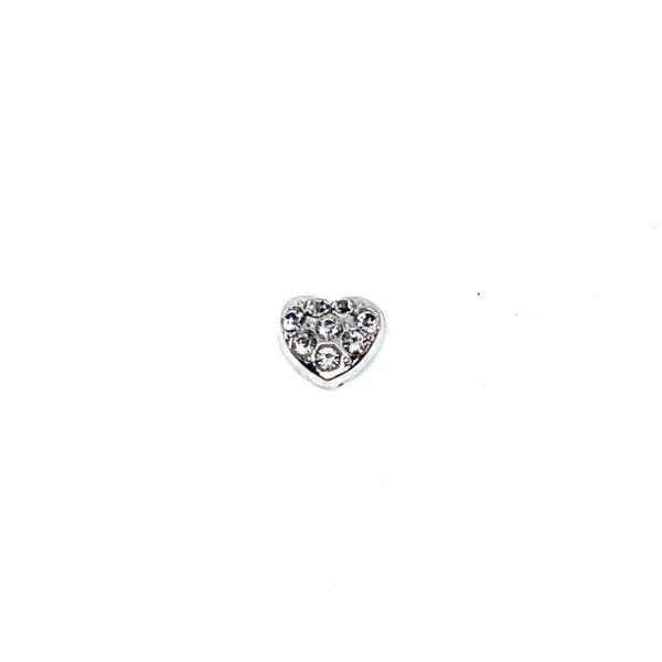 сърце частица-символ с кристалчета