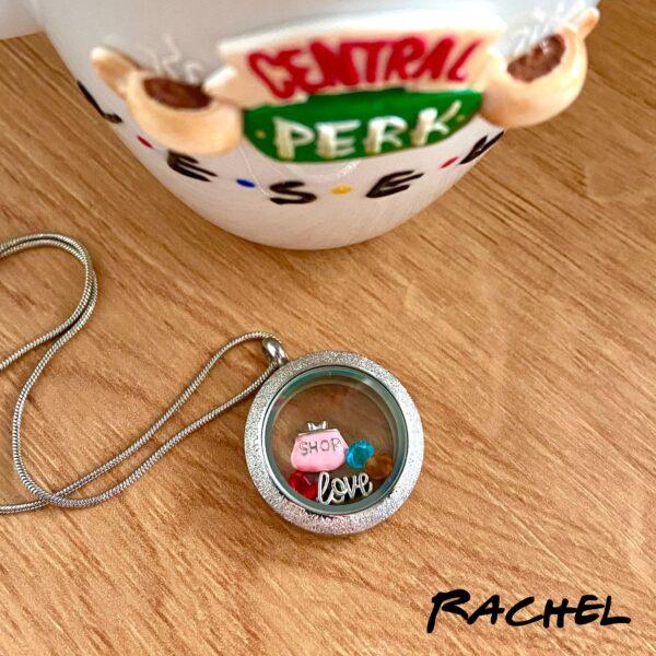 Медальон Рейчъл от сериала Friends